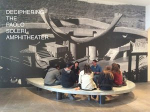 The Paolo Soleri Amphitheater at the SITE Santa Fe Biennial, 2016